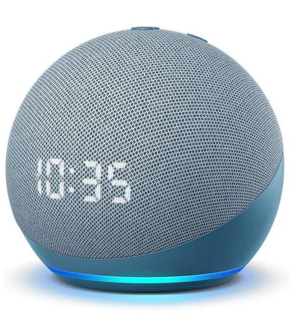 Amazon echo dot 4 s hodinami