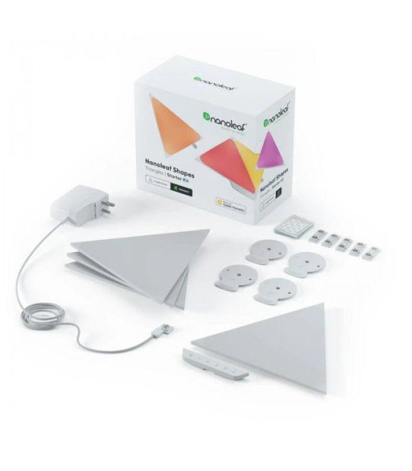 Nanoleaf Shapes Triangles Starter Kit (4 Panels)