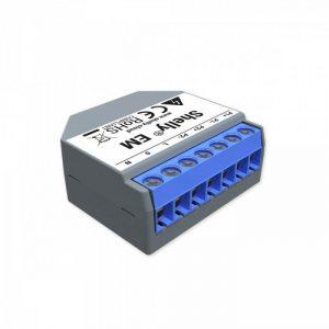 Shelly EM WiFi merač spotreby do 120A, bez svorky, výstup 1x2A