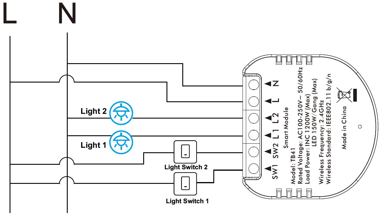Kesen-spinacie-relatko-wifi-switch-module-tuya