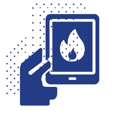 Frient Intelligent Heat Alarm, ZigBee 3.0 požiarny senzor 3