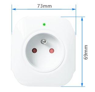 kesen-smart-zasuvka-biela-wifi-tuya-rozmery