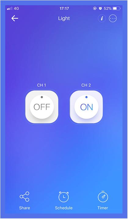 sonoff mobile app