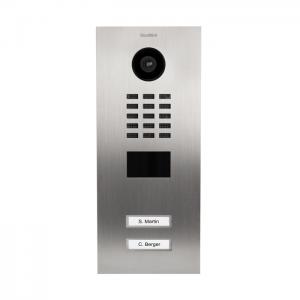 DoorBird D2102V videovrátnik nehrdzavejúca oceľ (zapustený-2 mená)