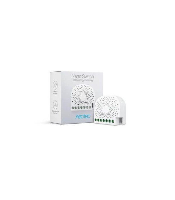 Aeotec Nano Switch s monitorovaním spotreby