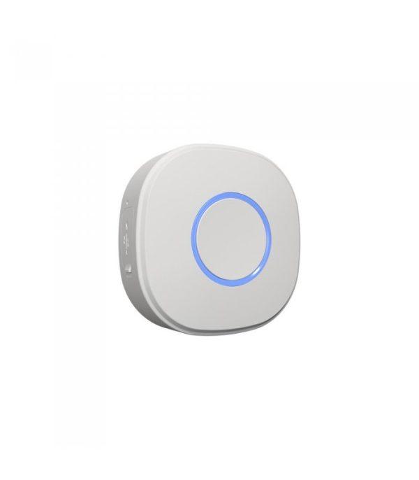 Shelly Button1 - batériový ovládač scén, biely