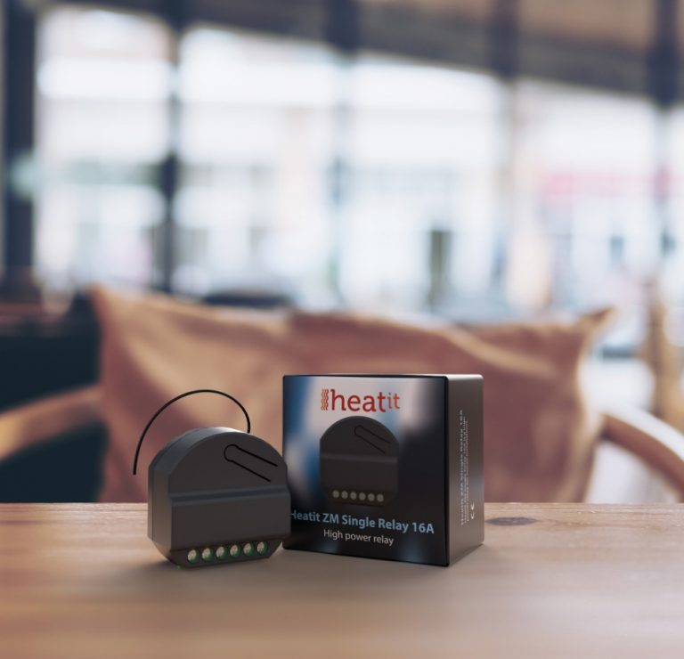 HeatIt ZM single relay 16A produktový obrázok
