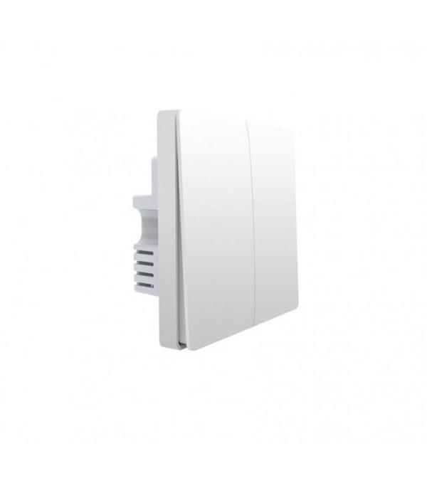 image-Zigbee vypínač s dvojitým relé - AQARA Smart Wall Switch H1 EU (With Neutral, Double Rocker) (WS-EUK04)