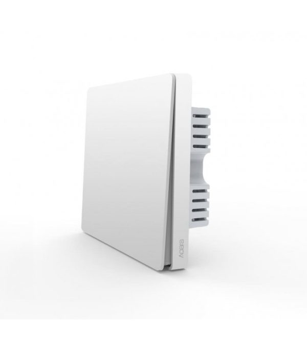 image-Zigbee vypínač s relé - AQARA Smart Wall Switch H1 EU (With Neutral, Single Rocker) (WS-EUK03)