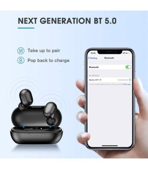 image-Haylou TWS Earbuds GT1 Black