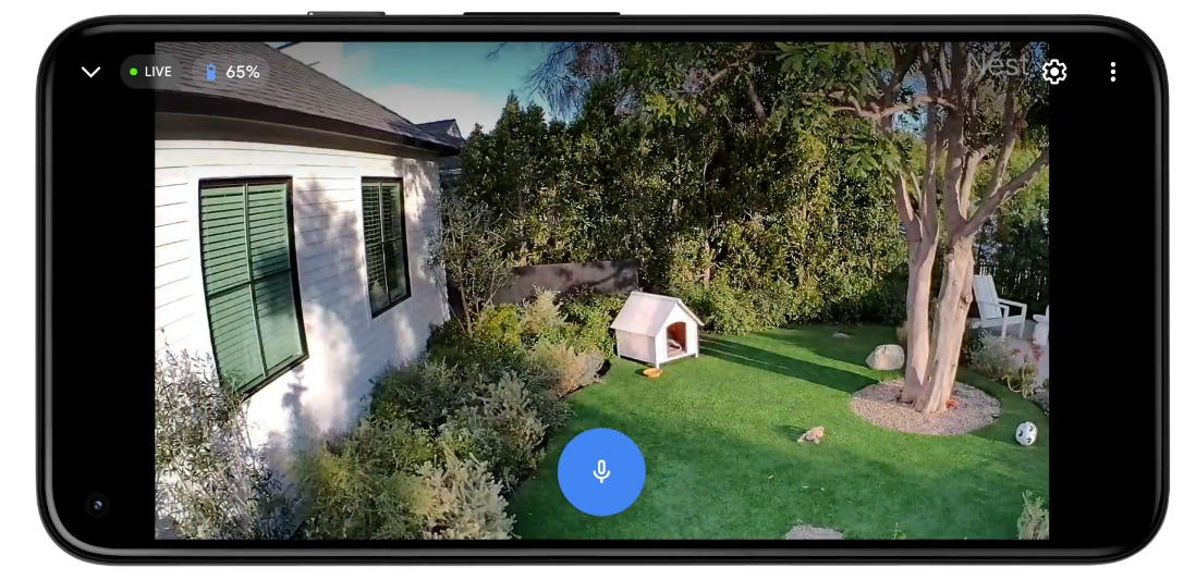 Google Nest Cam (vhodné vnútri aj vonku) 6