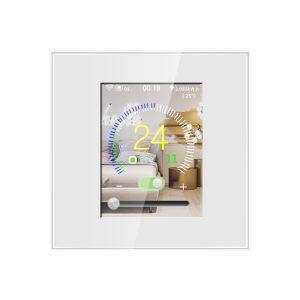 Lanbon L8 dotykový termostat na elektrické podlahové vykurovanie s displejom, biel
